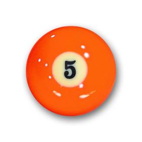 "Billardkugel Nr.5   Pool-Ball ""Favorite"" Nr. 5..."