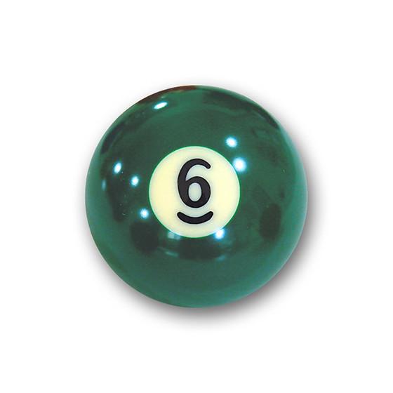 "Billardkugel Nr.6   Pool-Ball ""Favorite"" Nr. 6  (12J206)"