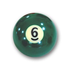 "Billardkugel Nr.6   Pool-Ball ""Favorite"" Nr. 6..."