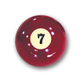 "Billardkugel Nr.7  Pool-Ball ""Favorite"" Nr. 7..."