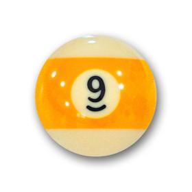 "Billardkugel Nr. 9  Pool-Ball ""Favorite"" Nr. 9..."