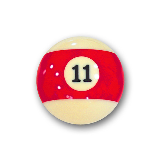 Billardkugel Nr.11  Pool-Ball Favorite Nr. 11  (12J211)