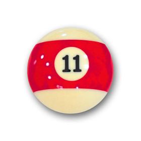 "Billardkugel Nr.11  Pool-Ball ""Favorite"" Nr. 11..."