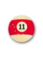 "Billardkugel Nr.11  Pool-Ball ""Favorite"" Nr. 11  (12J211)"