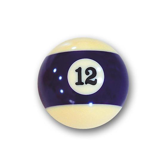 "Billardkugel Nr.12  Pool-Ball ""Favorite"" Nr. 12  (12J212)"