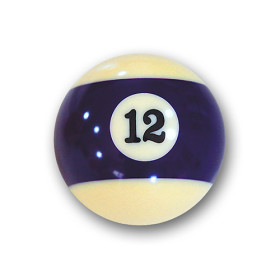 "Billardkugel Nr.12  Pool-Ball ""Favorite"" Nr. 12  (12J212)"