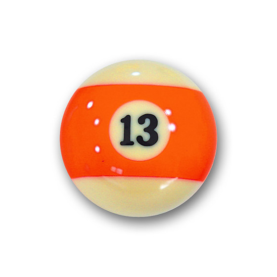 "Billardkugel Nr.13   Pool-Ball ""Favorite"" Nr. 13  (12J213)"
