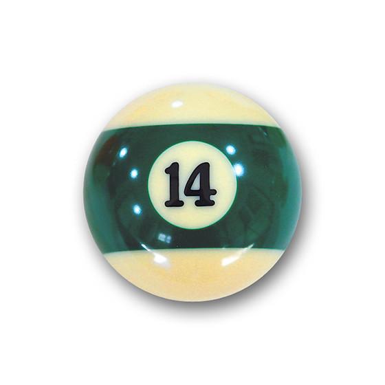 "Billardkugel Nr.14   Pool-Ball ""Favorite"" Nr. 14  (12J214)"