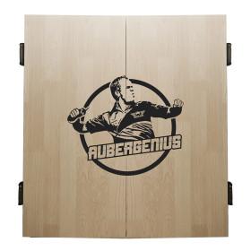 Aubergenius Deluxe Dart Cabinet Light Oak
