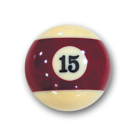 "Billardkugel Nr.15  Pool-Ball ""Favorite"" Nr. 15..."