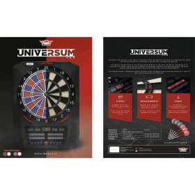 Dartautomat Universum Pro Electronic Bulls Dartboard...