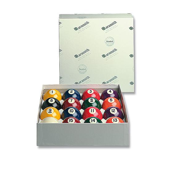 Pool-Ball-Satz Aramith Standard 57,2 / 57,2 mm