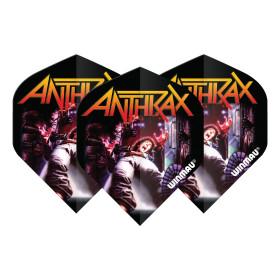 Winmau Flights Rock Band Anthrax Logo