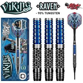 Shot Soft Dartpfeile Viking Raven  90% Dart 20g