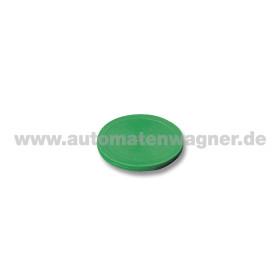 Airhockey Puck Plastik 63 mm Grün