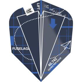 Target Flights BLUEPRINT PRO.ULTRA blau TEN-X