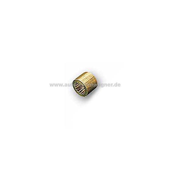 Schraub-Hülse Messing 10 mm Snooker