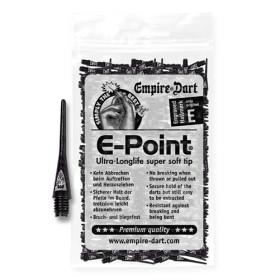E-Point Spitzen lang 2BA Schwarz (500 Stück)