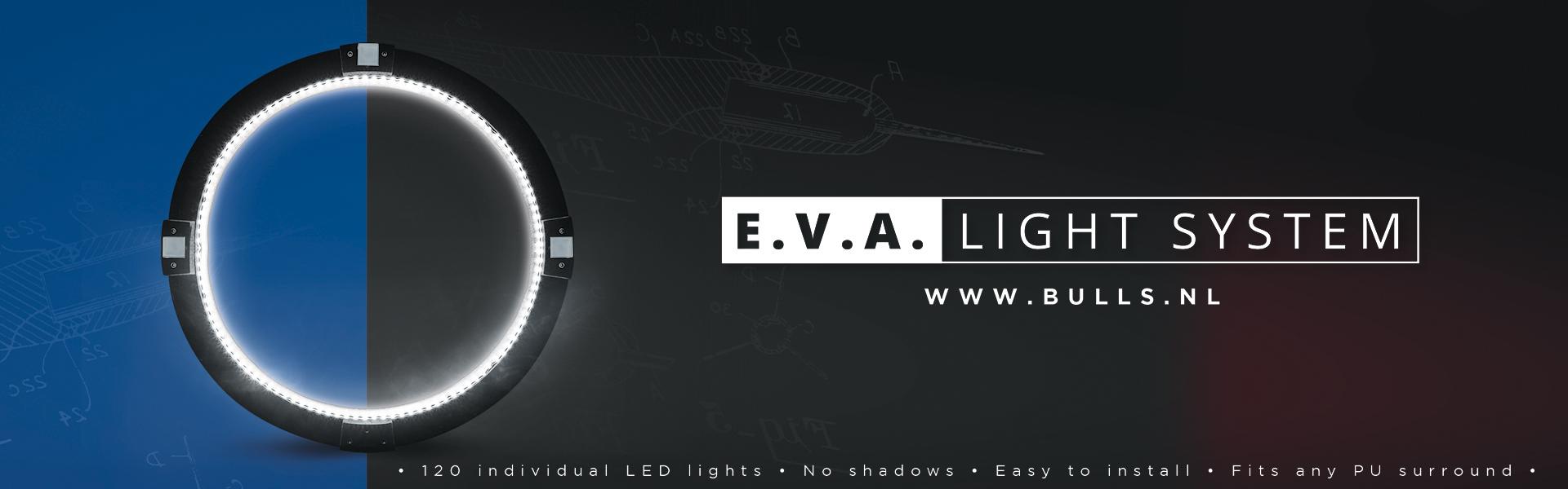 E.V.A. Light System EVA Dartboard Beleuchtung