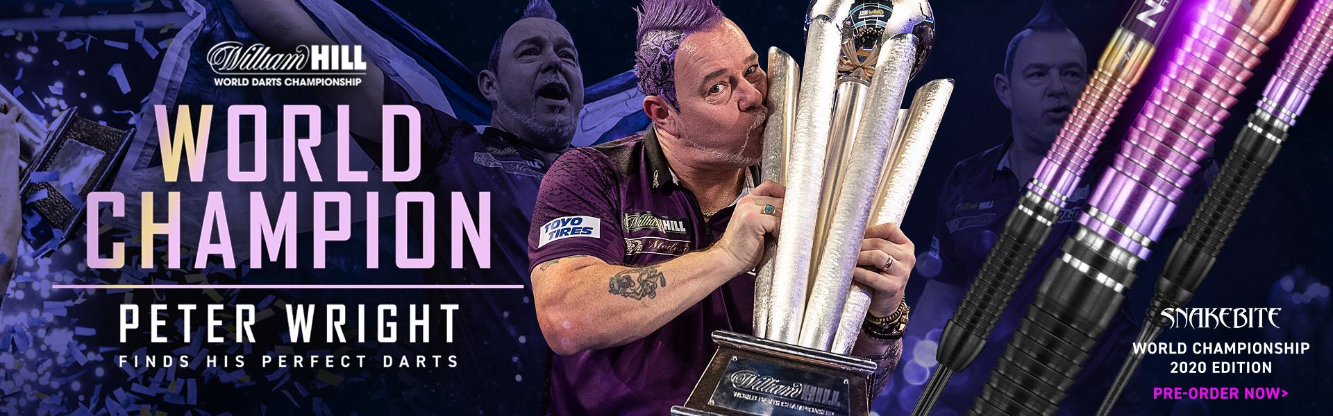 Peter Wright World Champion 2020